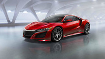 2016 Acura NSX production version