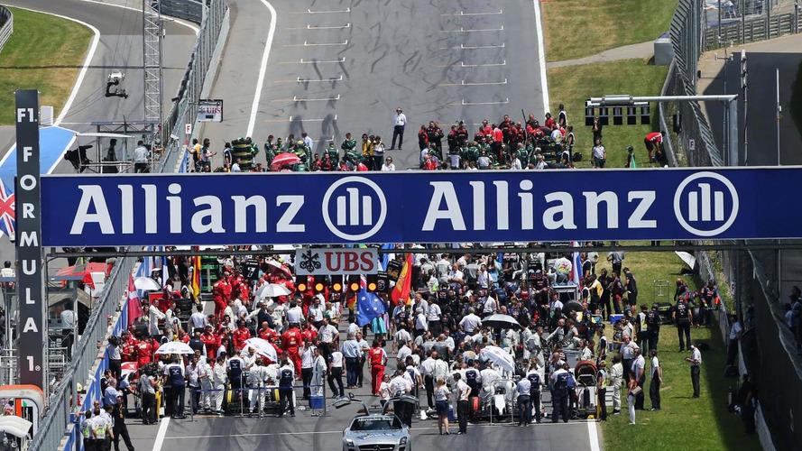 McLaren proposed grid restart idea - Whiting