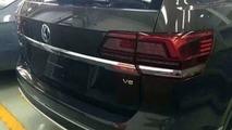 VW Teramont spy photo