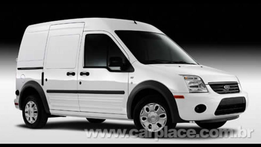 Ford revela a nova van Transit Connect - Versão elétrica chega em 2010