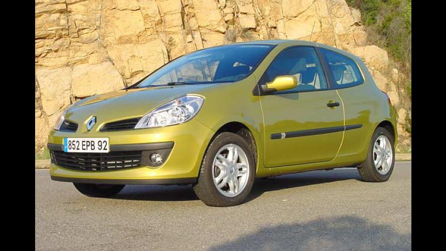 Renault Clio: Neue Rußfilter für zwei Diesel-Varianten