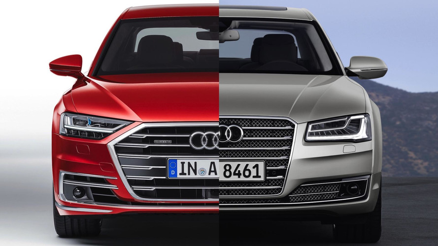 2018 Audi A8: Can You Spot The Differences?