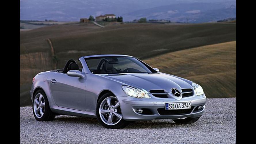 Neuer Mercedes SLK: Erste Fotos und Details