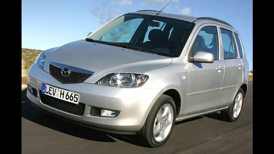 Sondermodell Mazda 2 Active Plus mit Top-Ausstattung