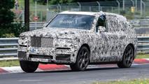 Rolls-Royce Cullinan Nürburgring casus fotoğrafları