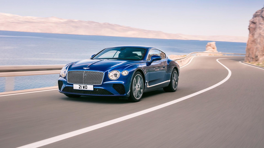Novo Bentley Continental GT 2018
