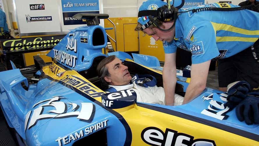 Galería: el otro Sainz que ya se subió a un Renault F1