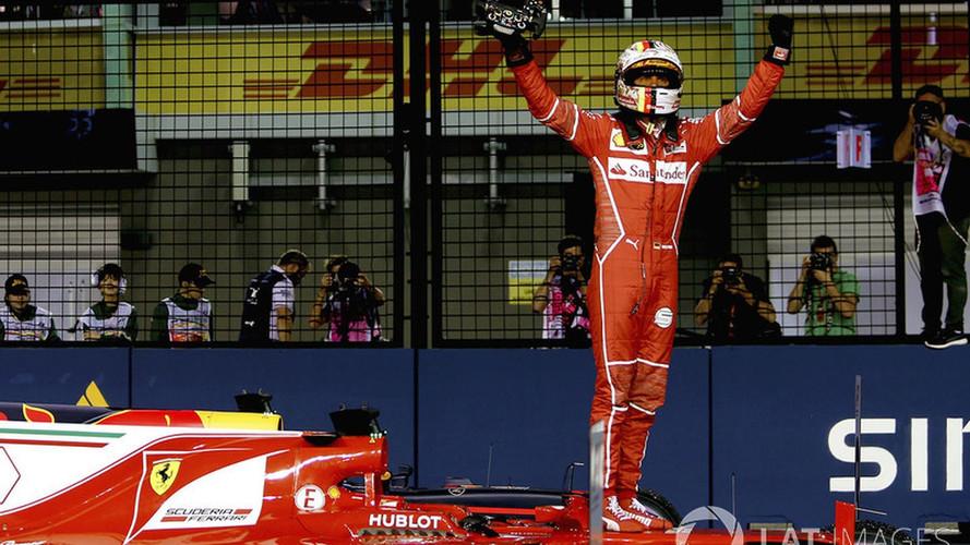 Vettel se saca de la manga su tercera pole del año en Singapur