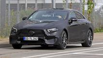 Mercedes CLS 2017 photos espion