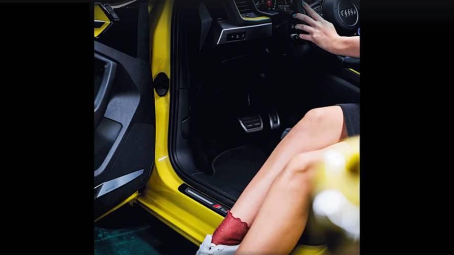 2019 Audi A1 S Line new teaser focuses on interior