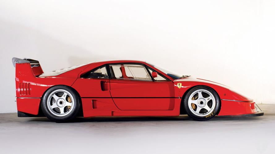 Un Ferrari F40 LM sale a la venta por 5 millones de euros