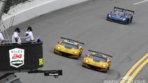 #4 Corvette Racing Chevrolet Corvette C7.R: Oliver Gavin, Tommy Milner, Marcel Fässler, #3 Corvette Racing Chevrolet Corvette C7.R: Antonio Garcia, Jan Magnussen, Mike Rockenfeller