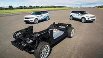 Jaguar Land Rover Concept_e research demonstrators