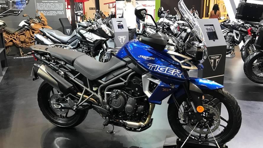 Salão Duas Rodas - Triumph apresenta Tiger 800 renovada