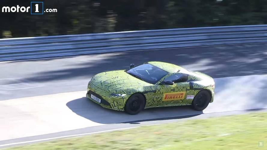 2018 Aston Martin Vantage sounds great in this new spy video