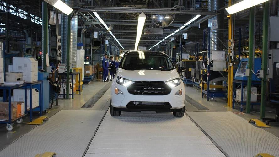 Le Ford EcoSport restylé déménage en Roumanie