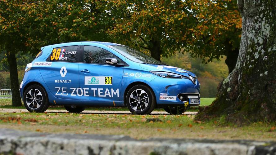 Motor1.com France takes on eRallye Monte Carlo in a Renault Zoe