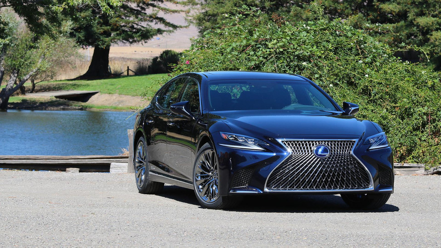 Lexus Considering More Powerful Hybrid LS; Full EV Also Possible
