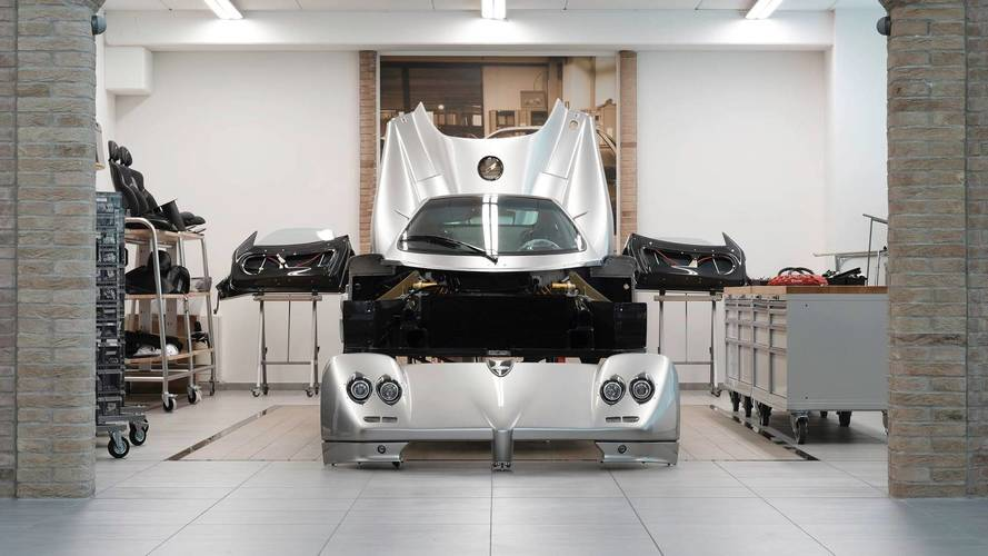 Pagani Introduces Supercar Restoration Program