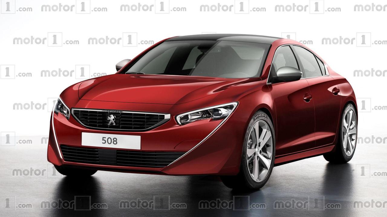 2018 Peugeot 508 render