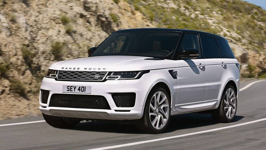 Put a socket in it – Range Rover Sport gets new hybrid model