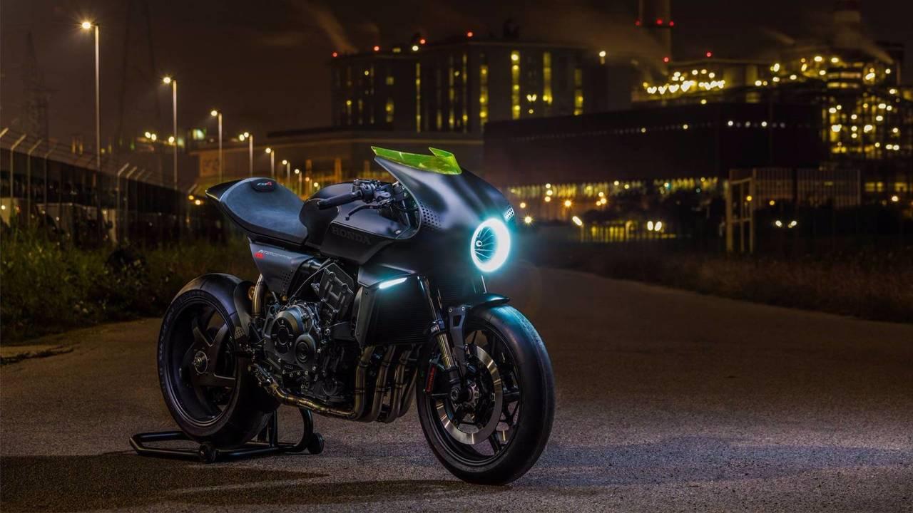 Concept Honda CB4 Interceptor