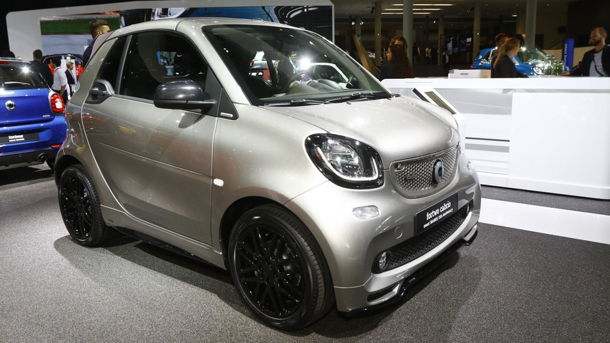 Smart Is Stylish In Frankfurt, Has Brabus 15th Anniversary Model