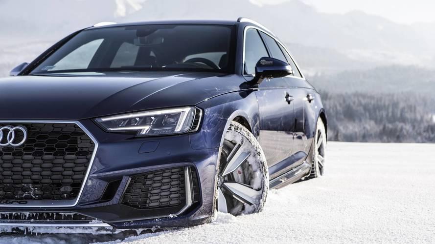 A bizonyíték, hogy az Audi RS4 Avant hókotróként is tökéletesen alkalmazható