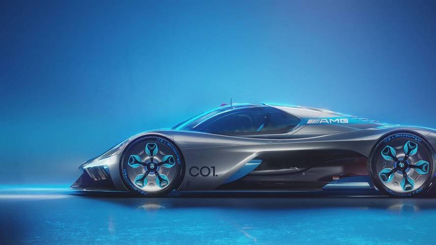 Mercedes-AMG C01 Vision Tasarım Yorumu