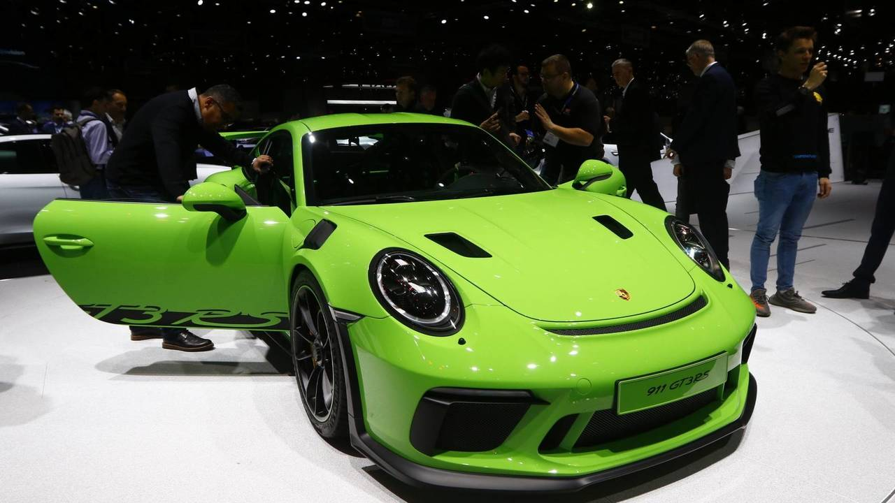 Image result for geneva motor show gt3 RS