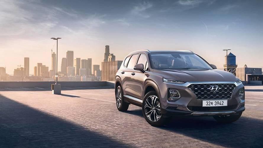 Novo Hyundai Santa Fe aparece em primeiras imagens oficiais