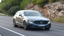 Mercedes Benz CLS Shooting Brake facelift spy photo