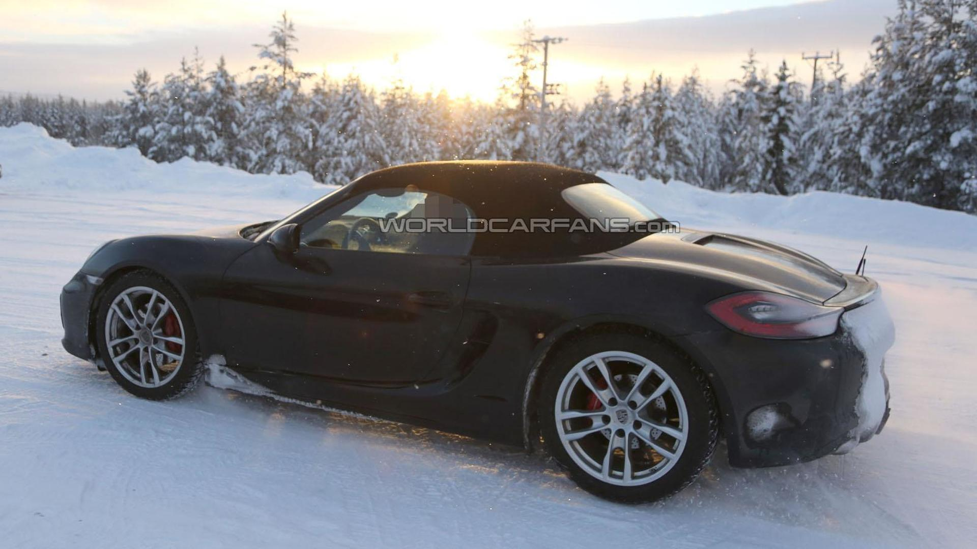 porsche boxster gts and cayman gts ing to 2014 beijing motor