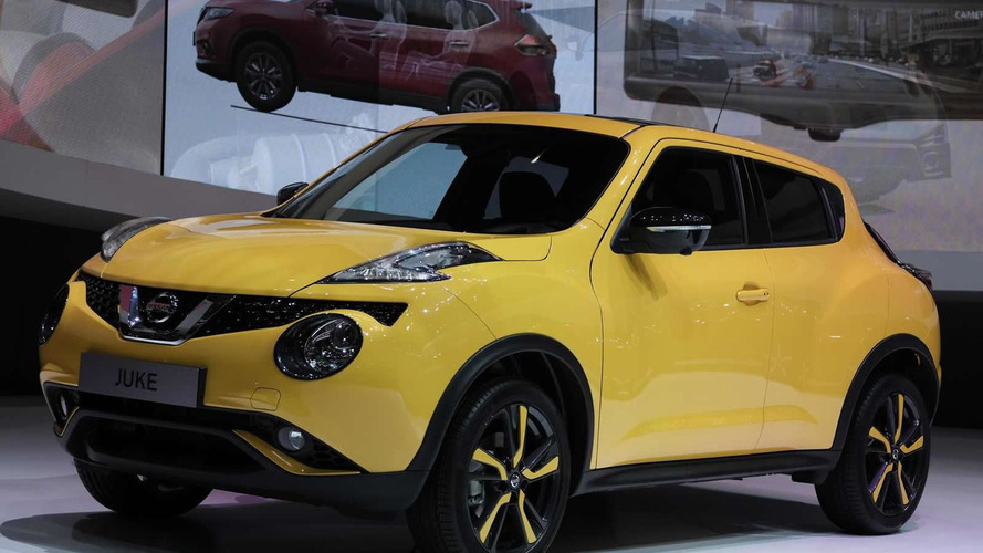 Facelifted Nissan Juke comes to Geneva with 115 HP 1.2-liter DIG-T engine