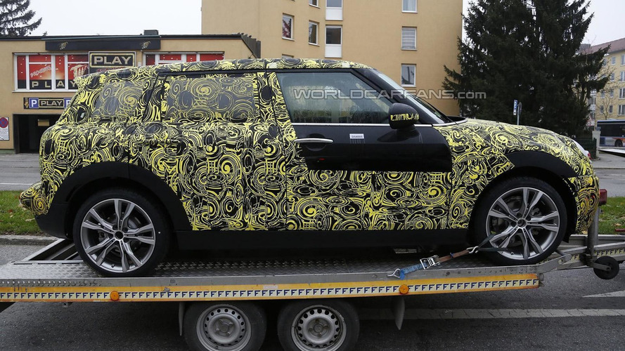 Next generation MINI Clubman spied looking bigger and beefier