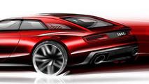 Audi Sport Quattro Concept design sketches and illustrations 10.09.2013