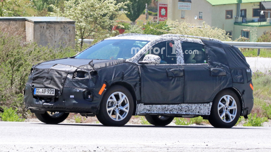 2018 Chevy Equinox spied in Europe