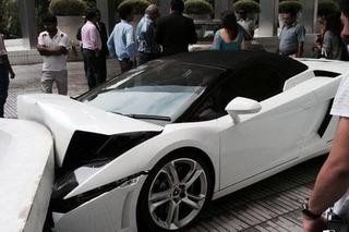 A Valet Played Car-Pinball with this Lamborghini Gallardo and Lost