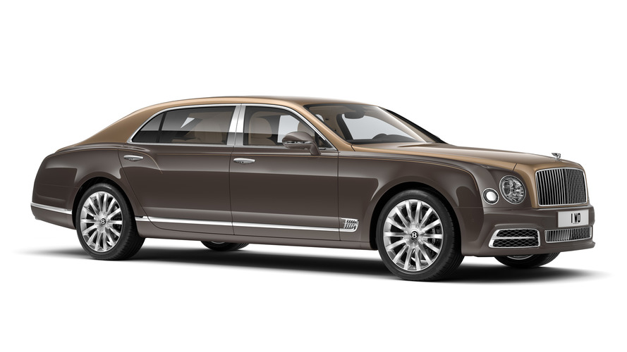 Bentley Mulsanne First Edition revealed for Beijing debut