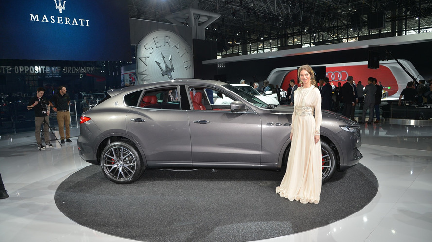 2017 Maserati Levante live in New York