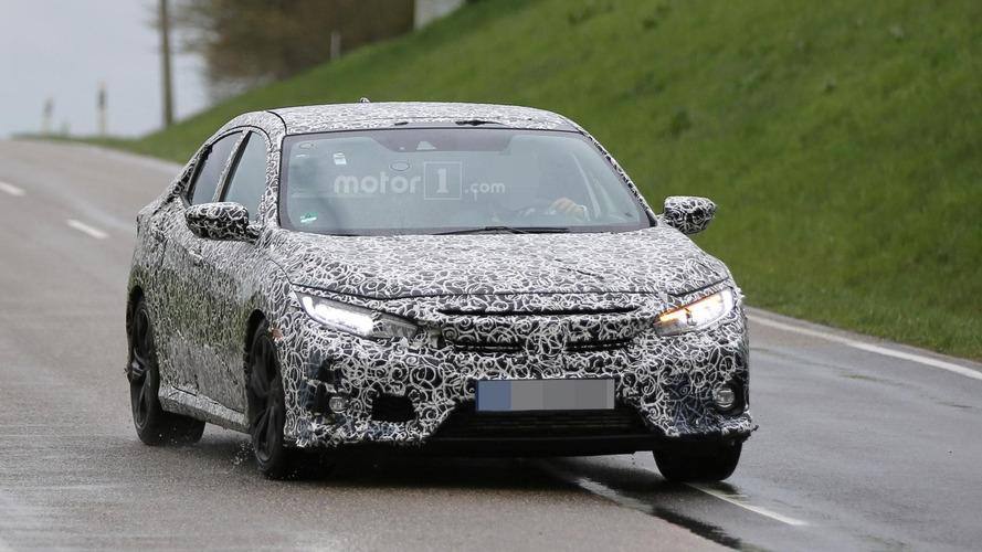Honda Civic Hatchback spy photos