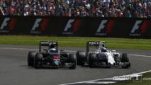 Fernando Alonso, McLaren et Valtteri Bottas, Williams
