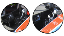 Manor front wing comparison