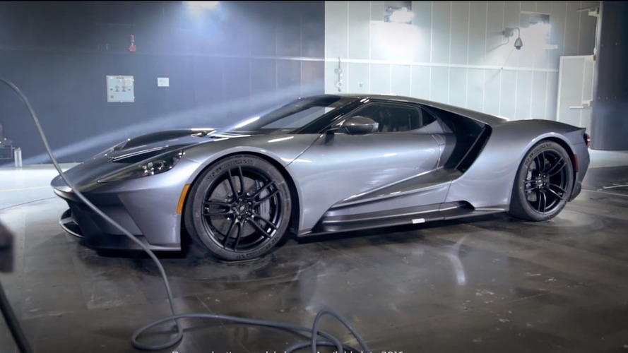 Watch the Ford GT undergoing wind tunnel testing