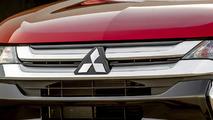 2016 Mitsubishi Outlander front grille