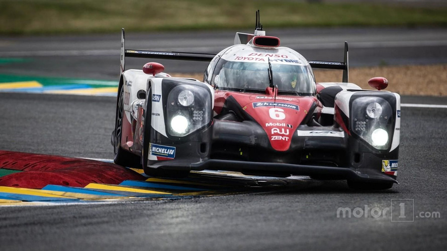 Toyota vs. Porsche battle heats up, Corvette crashes out