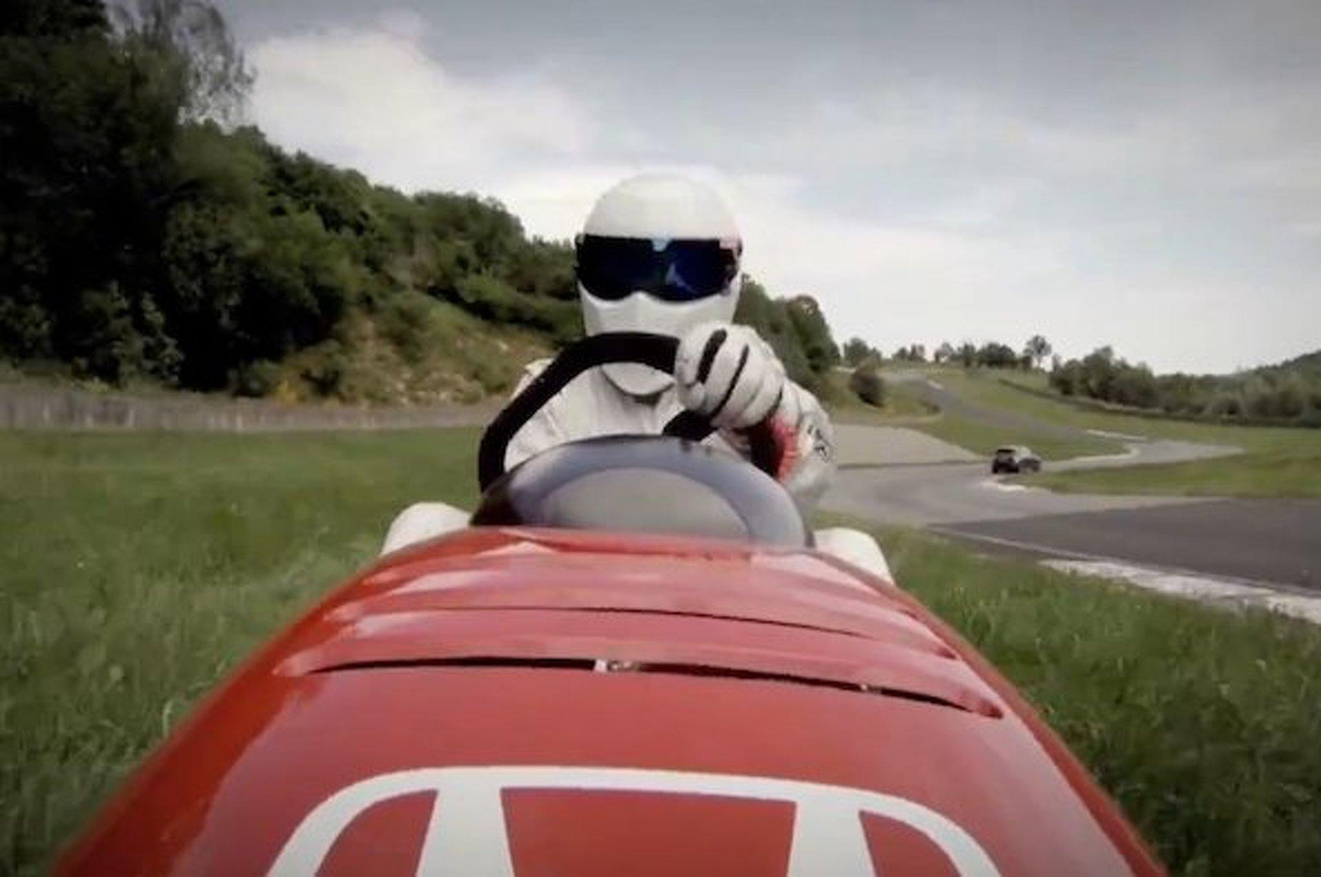 Watch The Stig Drive Around a 130MPH Honda Lawn Mower