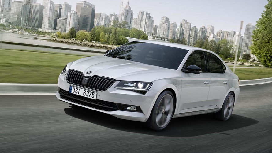 Skoda Superb SportLine debuting at IAA with cosmetic tweaks and lowered suspension
