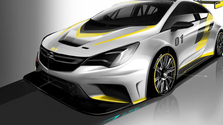 Opel Astra TCR to be unveiled on October 15th