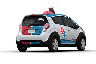 Domino's Adds Fleet of Chevrolet Pizza Delivery Vehicles
